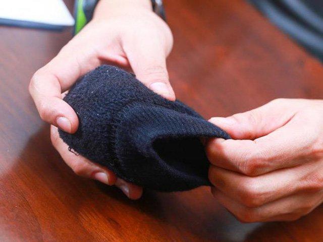 метод складывания носков