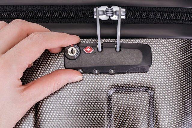 подбор пароля к чемодану