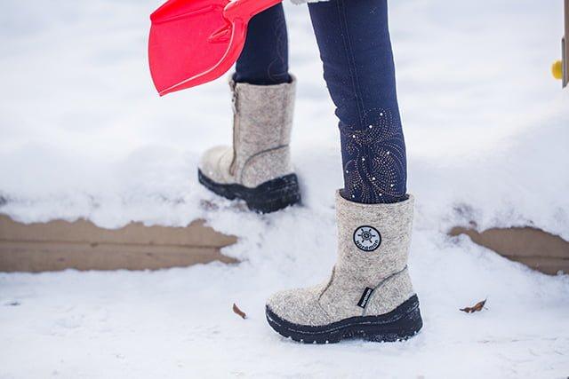 теплая обувь на зиму детям