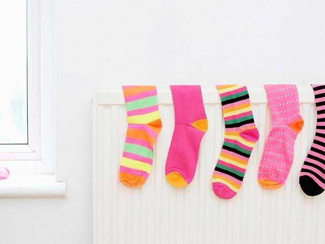 сушка носков