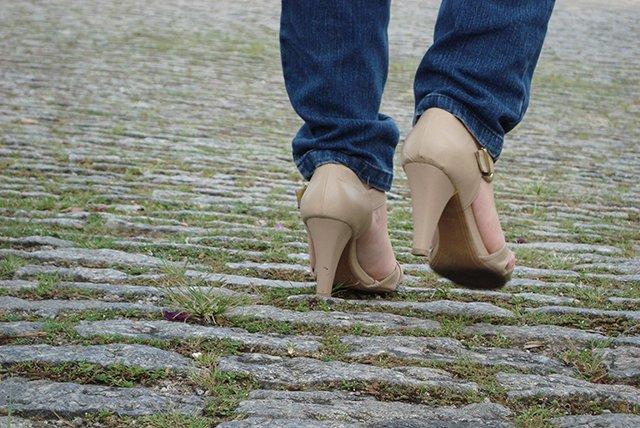 метод растягивания обуви