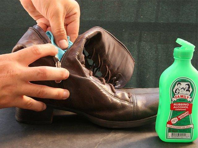 спирт для растяжки кожаных сапогов