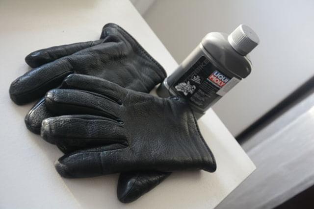 подготовка кожаных перчаток к хранению