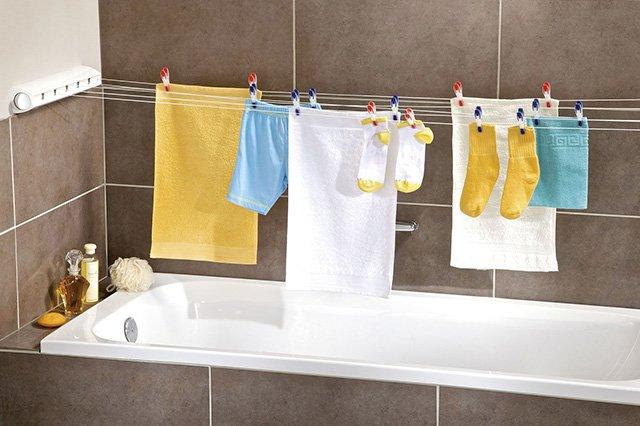 сушилка одежды в ванной