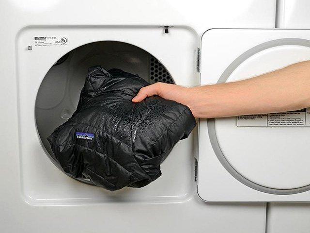 пуховик после стирки в стиральной машине