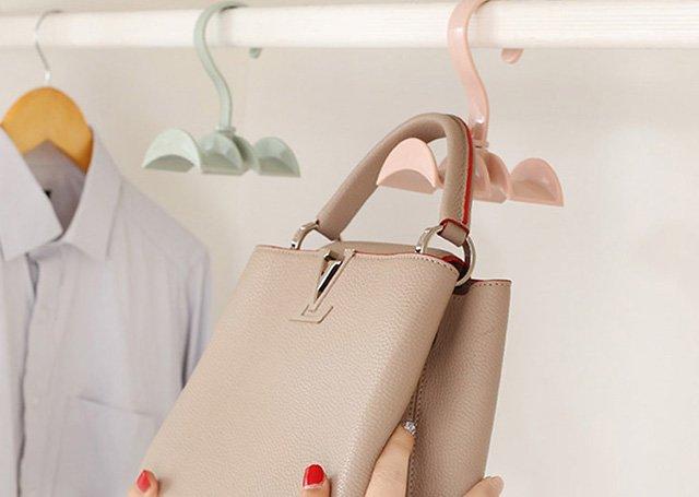 способ разглаживания кожаной сумки