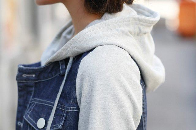 женская джинсовая кофта на весну