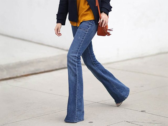 длинные джинсы