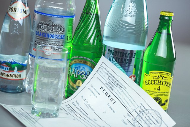 рецепт на минеральную воду