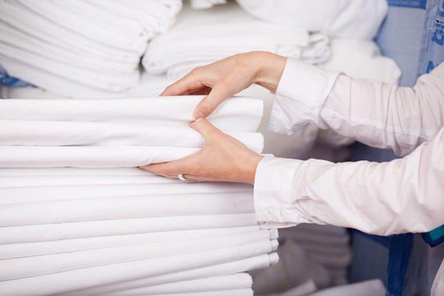 чистые комплекты постельного белья