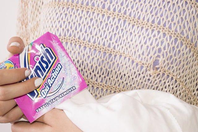 ваниш для отбеливания вещей после стирки