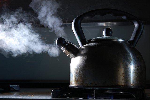 кипячение воды для чая