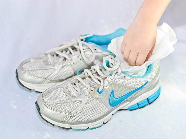 метод сушки кроссовок