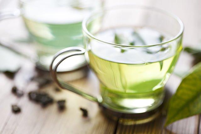 чай с минеральной водой