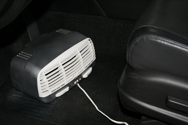 очистка воздуха в салоне автомобиля