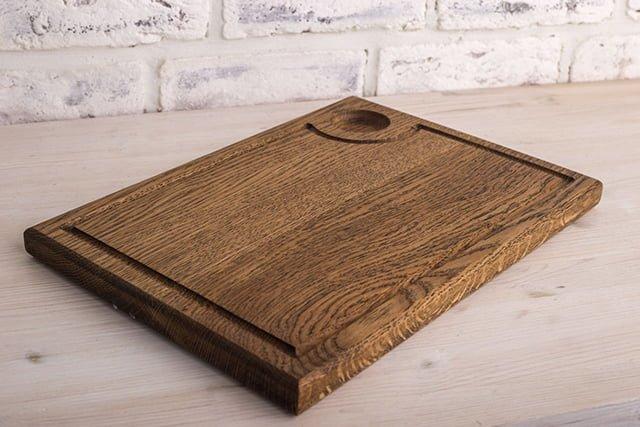 разделочная доска из твердой породы дерева