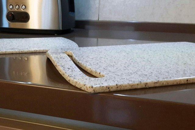 каменная доска для кухни