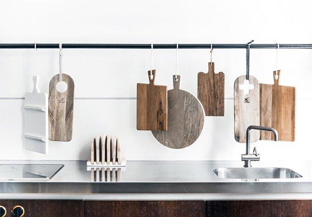 доски из дерева для кухни