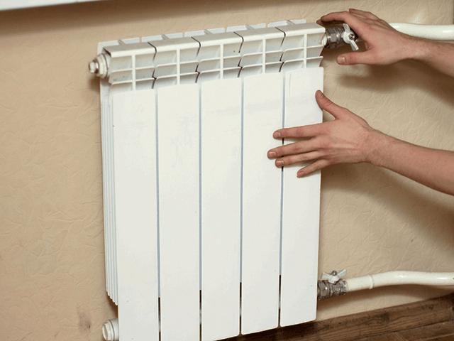 радиаторы отопления наполовину холодные
