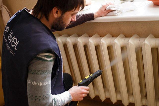 профессиональная чистка радиаторов отопления