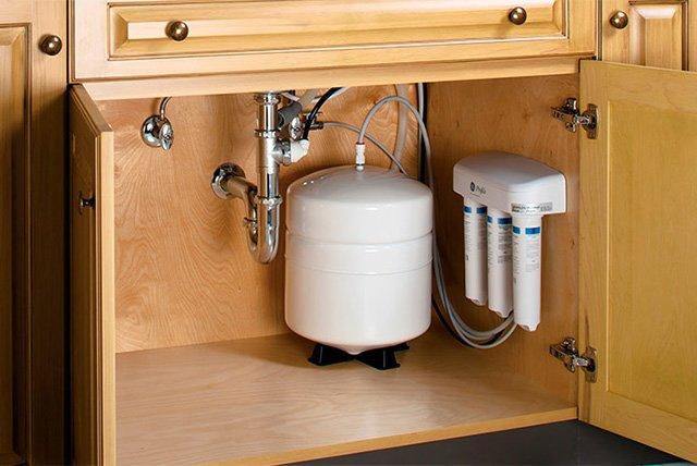 очистка воды из под крана