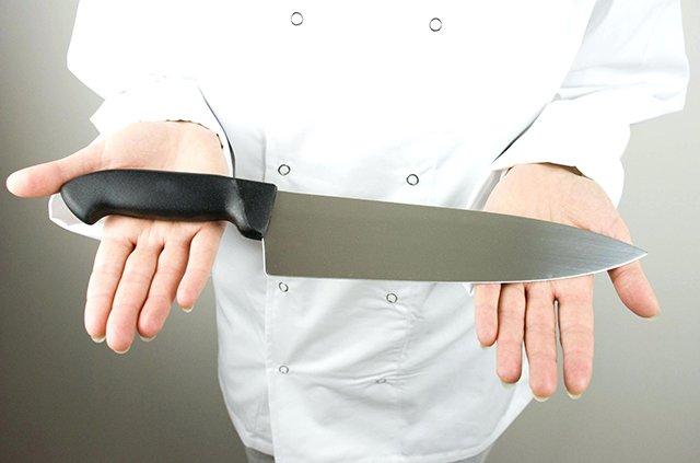 качественный кухонный нож