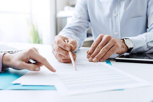 заключение договора со страховой компанией