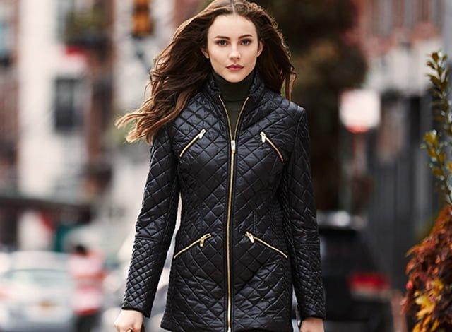 женская куртка из болоньи