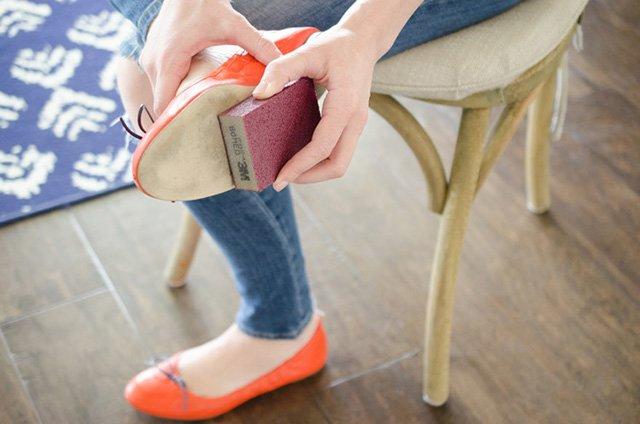 способ восстановления подошвы обуви