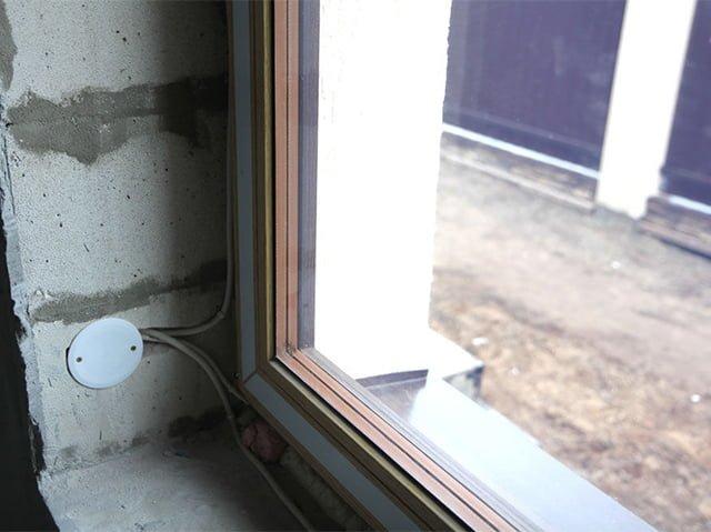 электрообогрев окна
