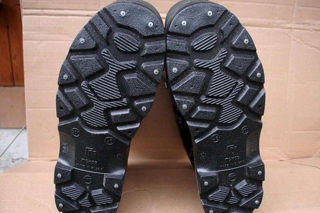 подошва зимней обуви