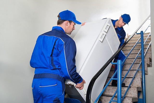 перевозка холодильника с грузчиками