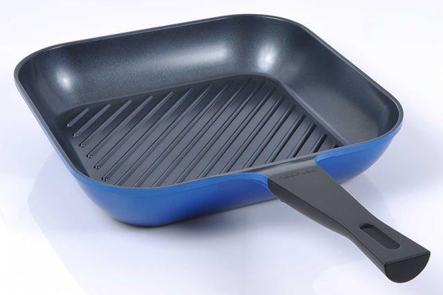 сковорода гриль с керамическим покрытием