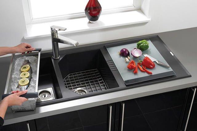 функциональная мойка для кухни