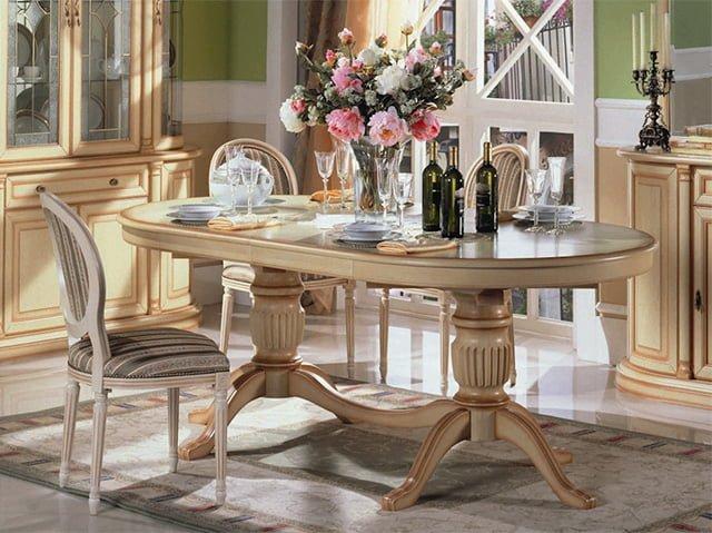 овальный стол для кухни