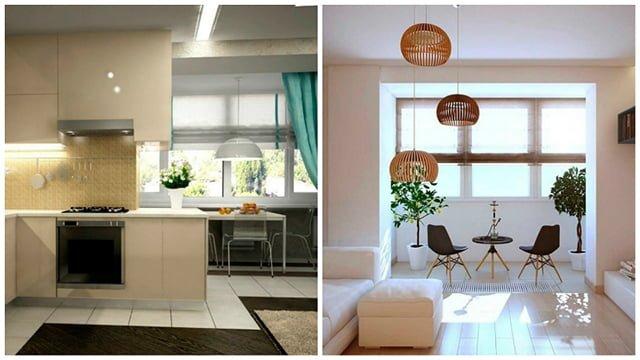 варианты расширения пространства в узких комнатах