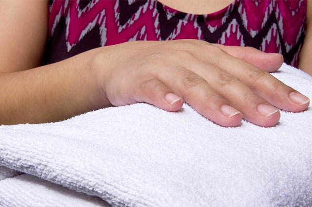 полотенце после стирки