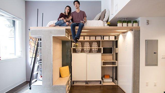 мебель для узкой комнаты
