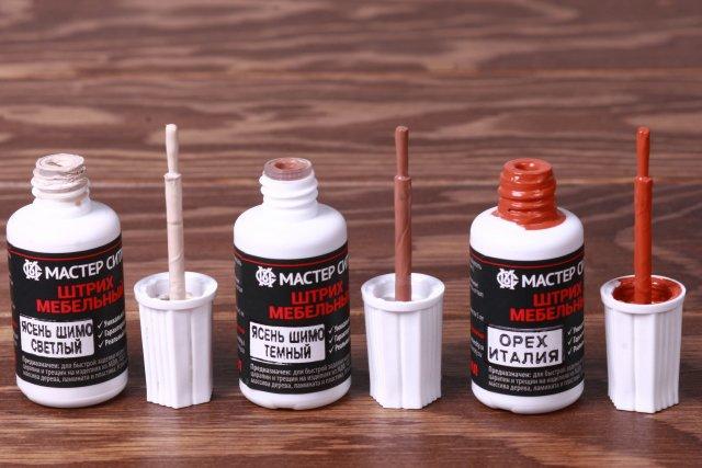 профессиональное средство для устранения царапин с деревянной мебели