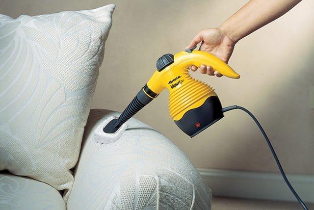 чистка дивана паром
