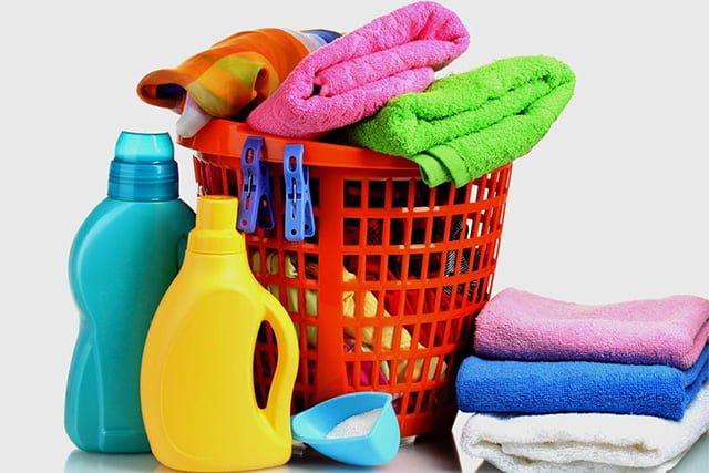 средства для мытья махровых полотенец