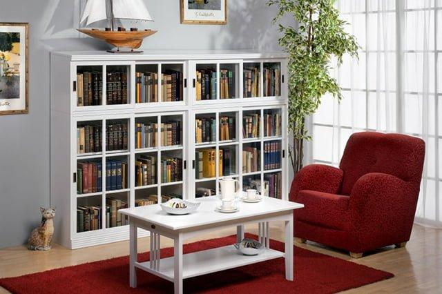 место для хранения книг