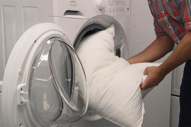 стирка холлофайбера в стиральной машине