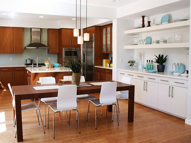 кухонный прямоугольный стол