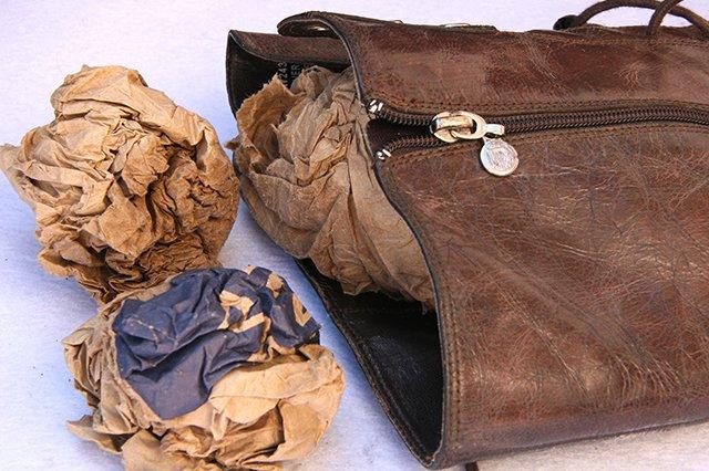 бумага для сушки кожаной обуви