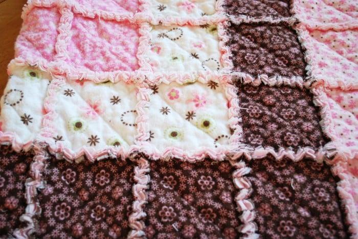 Одеяло из старого постельного белья