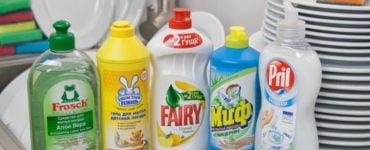 Лучшее моющее средство для посуды