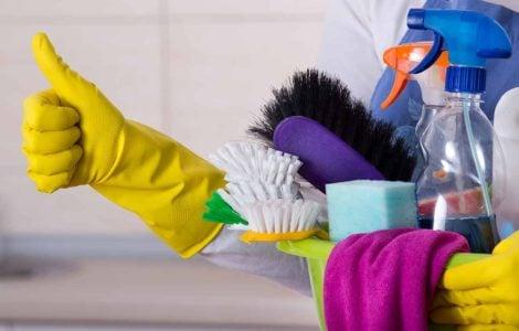 Ошибки при уборке