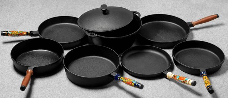 Как выбрать чугунную сковороду