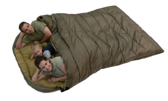 Семейный спальный мешок